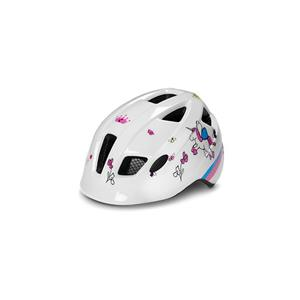 CUBE HELMET PEBBLE XS (46-51) WHITE CUBIE