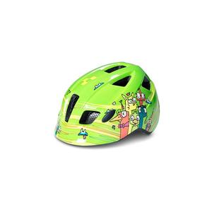CUBE HELMET PEBBLE S (51-55) GREEN FRIENDS