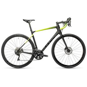 ATTAIN GTC RACE CARBON/FLASHYELLOW 53